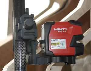 Hilti Laser Level Pm 2 l Laser Line Projectors Laser Line Included Three piece B