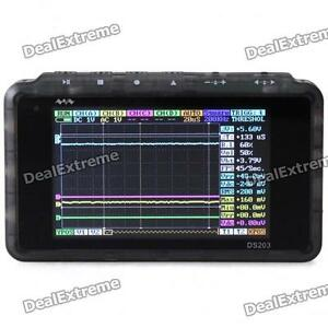 America Ship Arm Dso203 Nano V2 quad Pocket sized Digital Oscilloscope