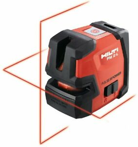 Hilti Pm 2 l Line Laser Self leveling Laser Level New 2047044