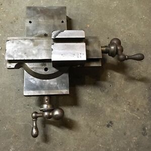 Bc Ames Metal Lathe Cross Slide Compound Jeweler Watchmaker Machinist Tool Room