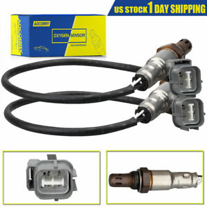 2 Upstream Downstream O2 Oxygen Sensor Direct Fit For Acura Honda Accord Civic