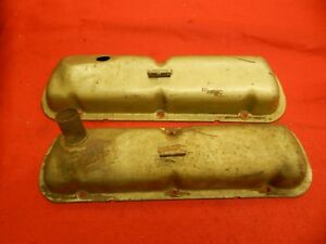 Pair Of Used 64 65 Ford Mustang 289 289 Hipo Rh Lh Valve Covers C5zz 6582 Pr