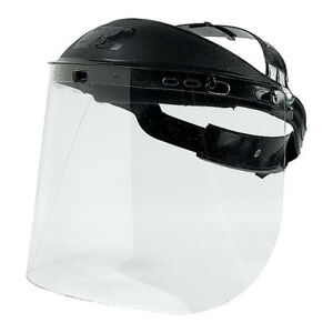 Face Shield w headgear 13 Lx12 W X5 H Airspade Ht136