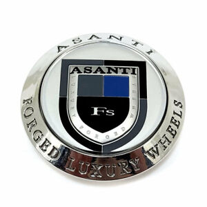 Asanti Forged Luxury Wheels Chrome 3 Od Floater Snap In Wheel Center Hub Cap