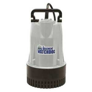 Cast Iron Aluminum Sump Pump 1 2 Hp Basement Watchdog Bw1050
