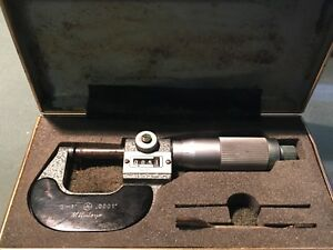 Mitutoyo 193 211 Outside Micrometer 0 1 0001