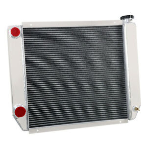 Chevy gm Style 24 x19 Universal Aluminum Racing Radiator Heavy Duty Cooling