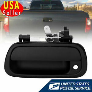 Rear Tail Gate Tailgate Handle For 2000 2006 Toyota Tundra Pickup Texture Black