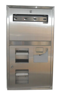 Recessed Seat cover Dispenser And Toilet Tissue Dispenser Paper Dispenser
