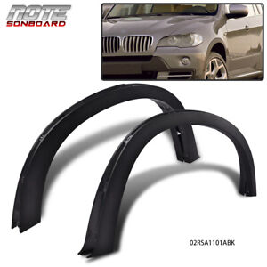 For Bmw X5 E70 07 13 Fender Flares Arch Flare Extension Trim Cover 20 21 Wheel
