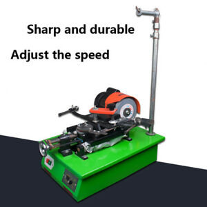 220v Saw Grinder Sharp And Durable Adjust Speed Full Automatic Grinding Machine