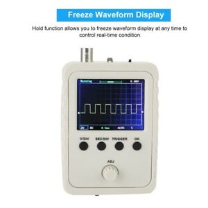 Portable 12bit Mini Arm Pocket Handheld Digital Storage Oscilloscope Lcd Screen