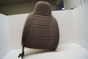 97 01 Jeep Cherokee Xj Passenger Right Front Seat Backrest