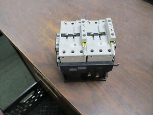 Eaton Reversing Contactor Dil M65 Xtce065d 24 27vdc Coil 88a 600v Used