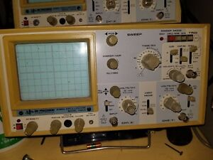 Bk Precision 1541a Analog Oscilloscope 40mhz working 4 Available Priced Low