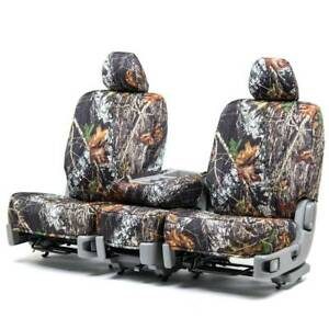 Custom Fit Seat Cover For Chevy Zafira In Mossy Oak Front Rear