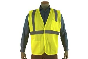 Economy Safety Vest Class 2 Ansi isea Pack 12