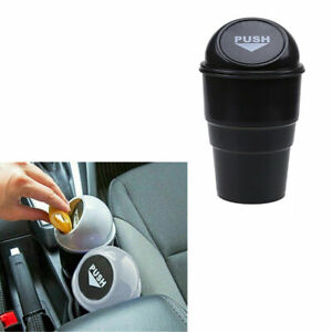 Mini In Car Auto Waste Trash Rubbish Bin Home Can Garbage Dust Case Cup Holder