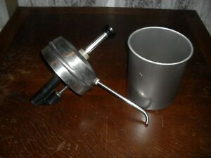 Used Star N2 30404 Pump Assembly Complete 10 3 1 2 Qt Stainless Steel Bowl