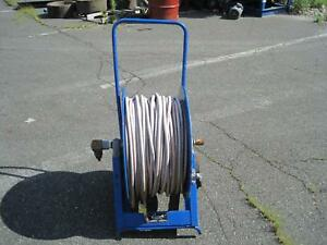 Coxwells Pr1500 6 100 Pressure Washer Hose Reel W Wheels Npt look At Pictures
