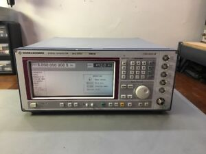 Rohde Schwarz Sme06 5 Khz 6 Ghz Signal Generator Calibrated Opt 5 Phase Mod