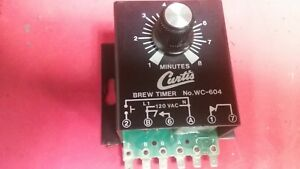 Curtis Coffee Maker Timer Switch Wc 604