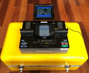Fujikura Fsm 40pm Optical Fiber Fusion Splicer For Mm Sm And Pm Fiber