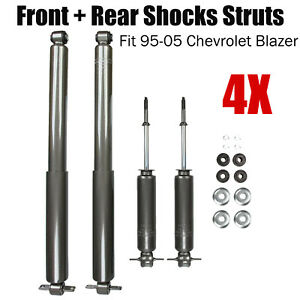 Front And Rear Shocks Fit 95 05 Chevrolet Blazer Gmc Jimmy Sonoma