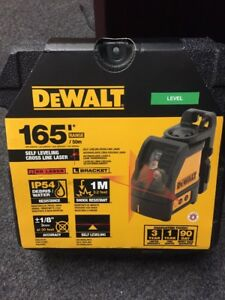 Dewalt Dw088k Self Leveling Horizontal vertical Cross Line Laser Level New