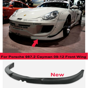 Frp For Porsche 987 2 Cayman 09 12 Wide Body Kit Rb Style Front Lip Splitter Bar