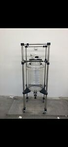 100 Liter Jacketed Glass Reactor Lab Grade Explosion Proof Never Used