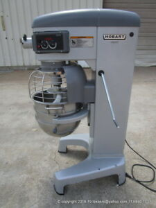 Hobart Legacy Hl300 30qt Dough Mixer W Bowl With Hook Barely Used