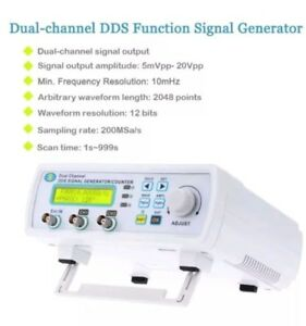 New Kkmoon Dual channel Dds Function Signal Generator Waveform Frequency Module