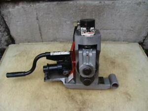 Ridgid 918 Hydraulic 2 12 Roll Groover Works With 300 Pipe Threader