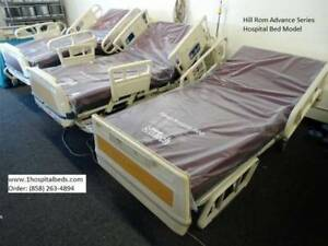 Hill Rom Advance Series Hospital Medical Bed With Foam Mattress