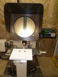 Mitutoyo Ph350 Optical Comparator With Mitutoyo Ka 200 Dro