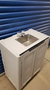 Portable Sink Hand Wash Sink Self Contained Sink Cold Water 110v