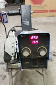 Miller S 74 Mpa Synergic Pulse Mig Welder 4 Drive Roll Wire Feeder
