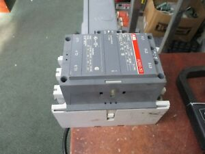 Abb Contactor A260 30 120v Coil 350a 600v Used