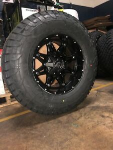 17x9 Fuel D531 Hostage Wheels 33 Tires Package Chevy Gmc Toyota Tacoma 6x5 5