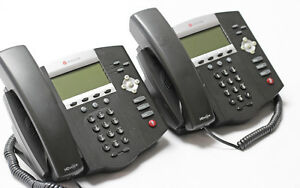 Polycom Soundpoint Ip450 Phone Lot Of 2