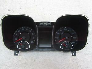 14 Chevy Malibu Speedometer Cluster Dash Gauge Gauges Auto Start Mph 23128277