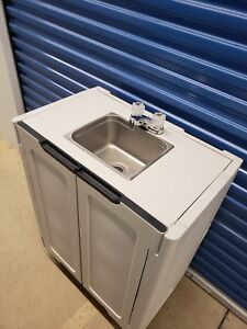 Portable Sink Hand Wash Sink Self Contained Nsf Sink Hot And Cold Water 110v