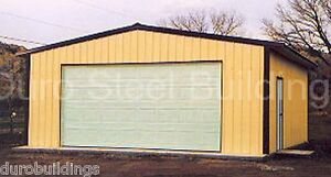 Durobeam Steel 30x40x11 Metal Prefab Garage Barn Building Shed Workshop Direct
