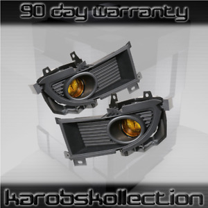 2004 2006 Mitsubishi Lancer Amber Lens Fog Lights Jdm Factory Replacement
