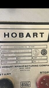 Hobart 80 Quart Dough Mixer Model M 802