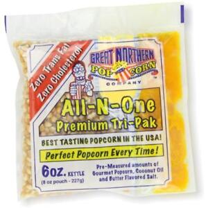 Great Unpopped Northern Popcorn 6 ounce Portion Packs pack Of 24
