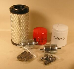 Kubota Bx Filter Maintenance Kit Bx23s Bx1880 Bx2380