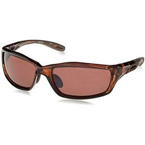 21126 Safety Goggles Glasses Infinity Hd Brown Polarized Lens Crystal Frame