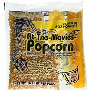 At the movies Popped Popcorn Coconut Oil Portion Packs case Of 24 8oz Kettle